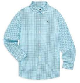Vineyard Vines Little Boy's & Boy's Plaid Shirt