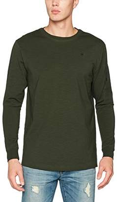 G Star Men's Stalt Relaxed R T L/s Long Sleeve Top