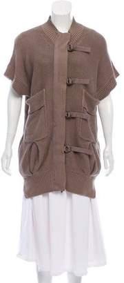 Stella McCartney Knit Short Sleeve Sweater