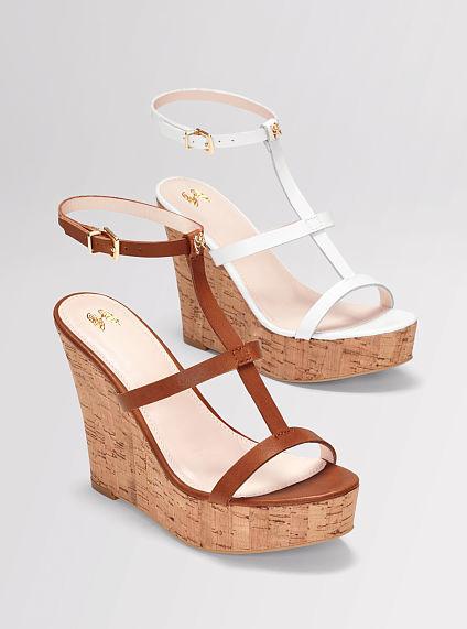 Victoria's Secret Collection Angel-charm T-strap Sandal
