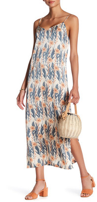Kensie V-Neck Slip Midi Dress $39 thestylecure.com