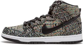 Nike Dunk High Premium SB Black/Rainbow