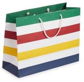 HBC Large Multicolour Stripes Gift Bag