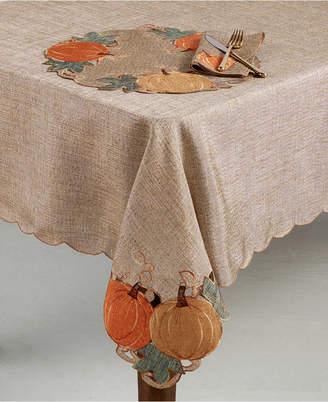 "Gardenia Homewear Pumpkin 60"" x 84"" Tablecloth"