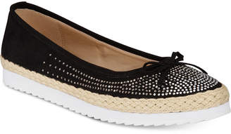 Callisto Pringle Slip-On Espadrille Flats Women Shoes