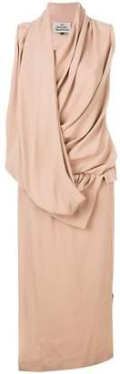 Vivienne Westwood draped front dress