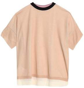 Marni Layered Cotton-Blend Jersey T-Shirt
