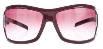 Gucci Guccisima Shield Sunglasses