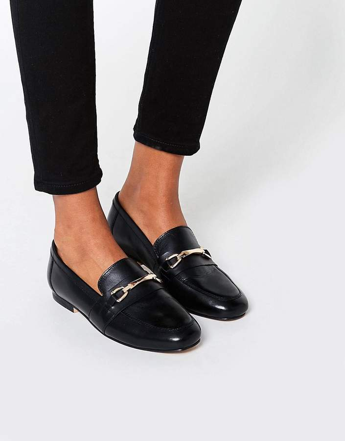 Asos Movement Leather Loafers