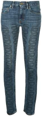 Hysteric Glamour swirl print jeans
