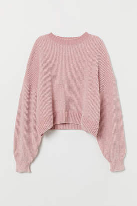 H&M Chenille Sweater - Pink