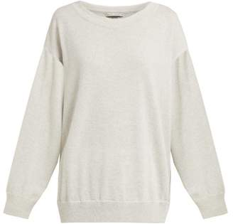Queene and Belle Round Neck Cashmere Sweater - Womens - Light Grey