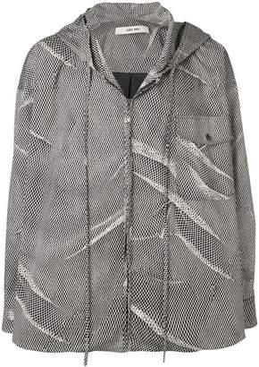 Damir Doma printed hooded jacket