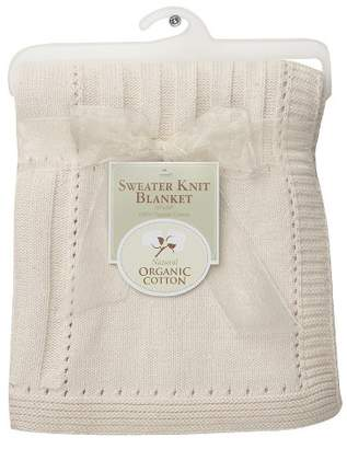 T.L.Care TL Care® Organic Cotton Sweater Knit Swaddle Blanket - Natural