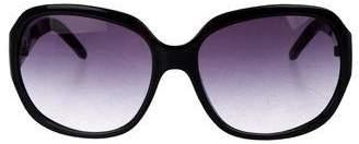 MICHAEL Michael Kors Gradient Oversize Sunglasses