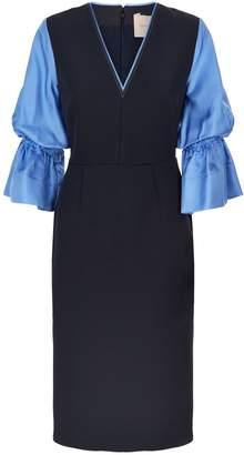 Roksanda Dania Puff Sleeve Dress