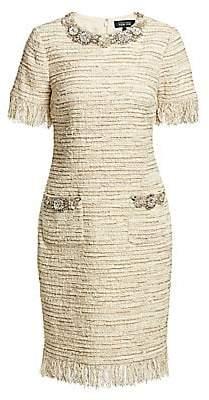 Teri Jon by Rickie Freeman Women's Tweed Sheath Dress