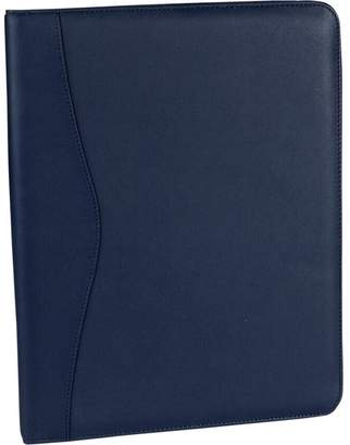 Royce Leather Deluxe Writing Padfolio (Blue)