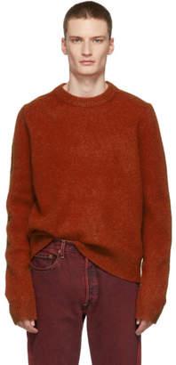Acne Studios Red Kai Crewneck Sweater