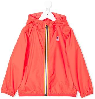 K Way Kids hooded zipped jacket
