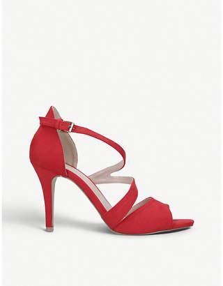 f69907cd30b Carvela Lightning cross-strap suedette sandals