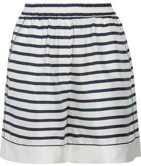 Dolce & Gabbana Striped Silk-Satin Shorts