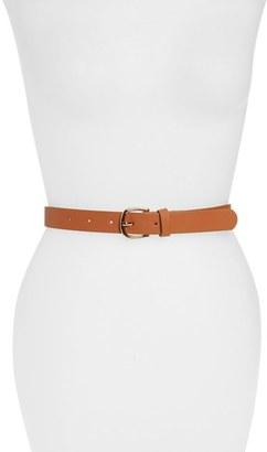 Junior Women's Amici Accessories Faux Leather Belt $16 thestylecure.com