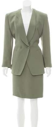 Giorgio Armani Knee-Length Skirt Suit