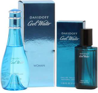 Davidoff Cool Water His/Hers Eau de Toilette Spray Duo