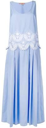 Ermanno Scervino long embroidered dress