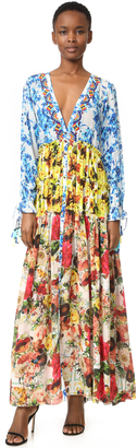 ONE by ROCOCO SAND Romantic Floral Maxi Dress $590 thestylecure.com