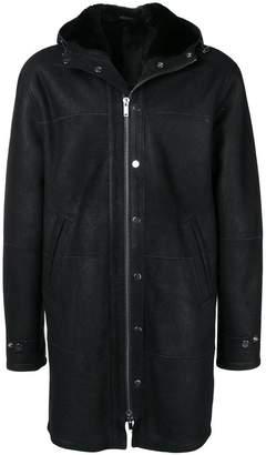 Dondup hooded coat