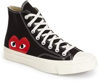 Comme des Garcons x Converse Chuck Taylor(R) Hidden Heart High Top Sneaker
