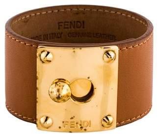 Fendi Leather Goldmine Bracelet