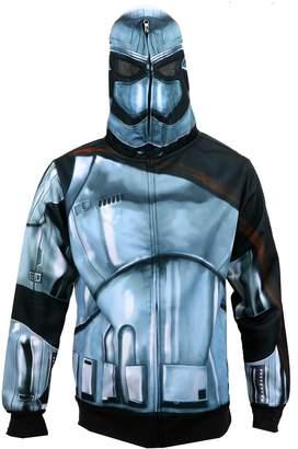 Star Wars Mad Engine The Force Awakens Men's Phasma Costume Zip-Up Hoodie L