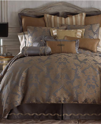 Waterford CLOSEOUT! Reversible Walton Queen 4-Pc. Comforter Set