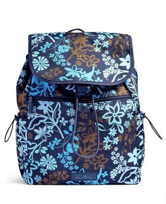 Vera Bradley Java Floral Drawstring Backpack