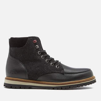 2b4eaf9d86d Lacoste Men s Montbard 316 Lace Up Boots - Black