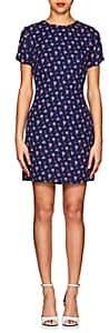 Barneys New York WOMEN'S FLORAL CREPE SHIFT DRESS