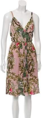Etoile Isabel Marant Floral Knee-Length Dress