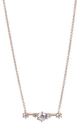 Nadri Edward Bar Pendant Necklace