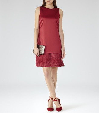 Bex FRINGE-HEM DRESS $370 thestylecure.com