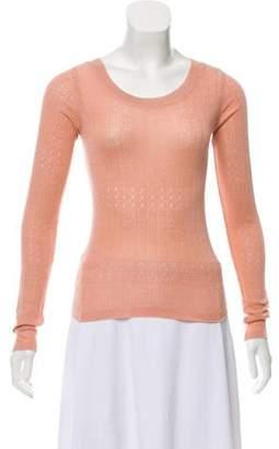 Sonia Rykiel Knit Patterned Top