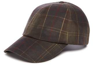 Barbour Washed-Wax Tartan Sports Cap