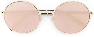 Gold And Wood 'Pamela' sunglasses