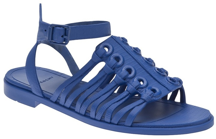 Nautical eyelet sandal