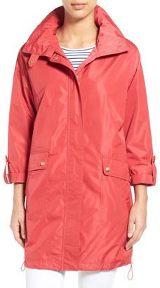 Ellen Tracy Packable A-Line Raincoat $220 thestylecure.com