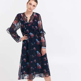 NEW La Fez Silk Floral Dress Women's by Le Stripe Store