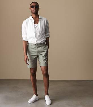 Reiss WICKER TAILORED SHORTS Green
