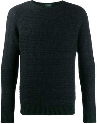 Zanone textured knit sweater